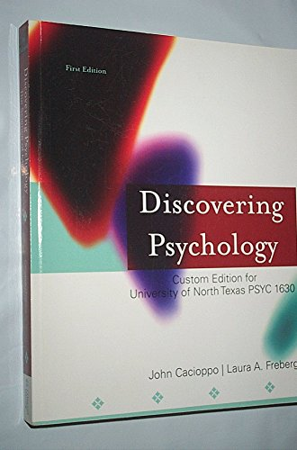 9781285129709: Discovering Psychology: The Science of Mind (Custom Edition for University of North Texas)