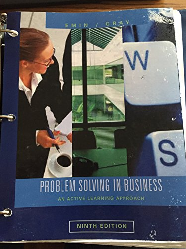 9781285132563: Problem Solving in Business 9th Edition