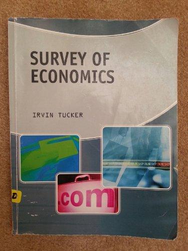Survey of Economics (Custom) (1285132831) by Irvin Tucker
