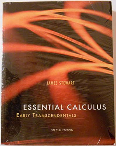 9781285134048: Essential Calculus: Early Transcendentals Custom Webassign Package for West Virginia University
