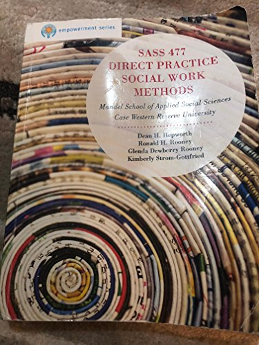 9781285134796: Sass 477 Direct Practice Social Work Methods By Mandel School of Applied Sciences, Case Western Reserve University