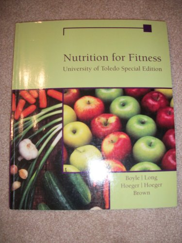 9781285135632: Isbn: 978-1-285-13563-2 (Nutrition for Fitness- University of Toledo Edition)