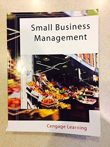 Small Business Management: Longenecker, Petty, Palich,