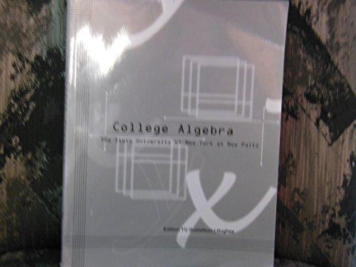 9781285138954: Acp College Algebra 11th Edition for SUNY New Paltz