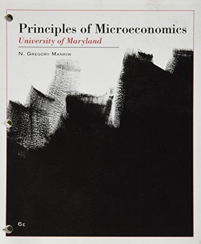 9781285139050: Principles of Microeconomics(University of Marylan