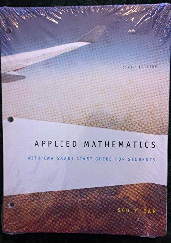 9781285139647: Applied Mathematics 6th Edition, Soo T. Tan