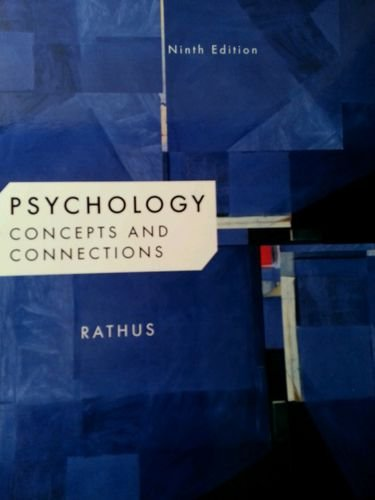 9781285140964: Psychology: Concepts And Connections