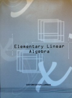 9781285141435: Elementary Linear Algebra - Custom Edition