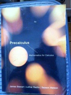 precalculus mathematics for calculus pdf
