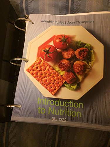 9781285145587: Introduction to Nutrition, BIO 1322