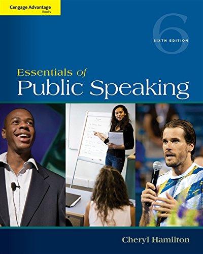 9781285159454 Cengage Advantage Series Essentials Of Public Speaking Books