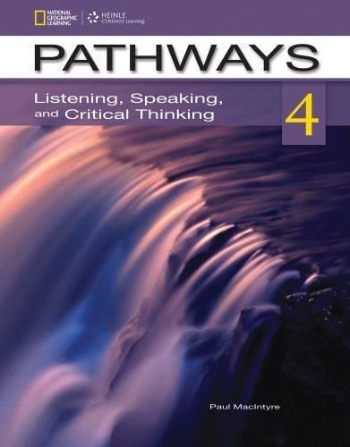 9781285159799: Pathways Listening & Speaking 4B: Student Book & Online Workbook Split Edition