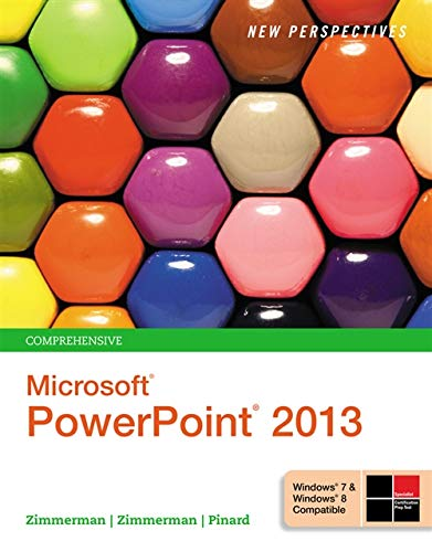 9781285161822: New Perspectives on Microsoft PowerPoint 2013, Comprehensive