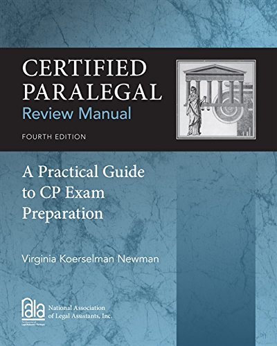 Certified Paralegal Review Manual: A Practical Guide