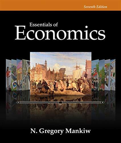 9781285165950: Essentials of Economics (Mankiw's Principles of Economics)
