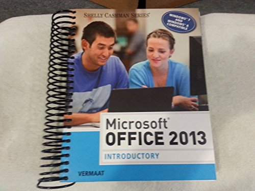 9781285166032: Microsoft Office 2013: Introductory (Shelly Cashman)