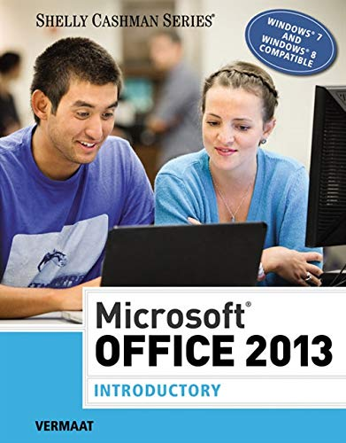 9781285166056: Microsoft Office 2013: Introductory (Shelly Cashman Series)
