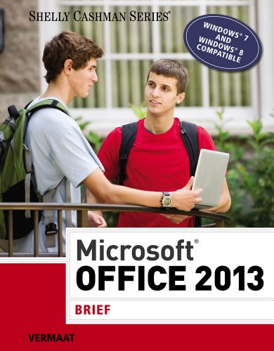 Microsoft Office 2013: Brief (Shelly Cashman Series): Vermaat, Misty E.
