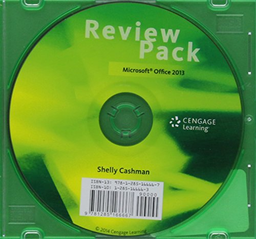 9781285166667: Review Pack for Vermaat's Microsoft Office 2013: Introductory