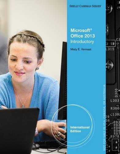 9781285166698: Microsoft (R) Office 2013: Introductory