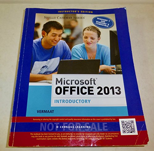 9781285166025 microsoft office 2013 introductory shelly cashman 9781285166926 microsoft office 2013 introductory paperback instructors edition fandeluxe Gallery