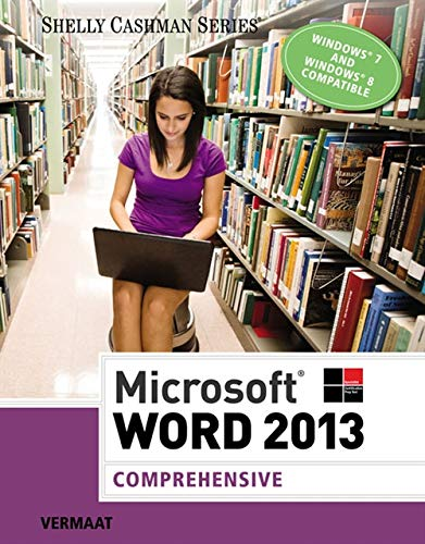 9781285167688: Microsoft Word 2013: Comprehensive (Shelly Cashman Series)