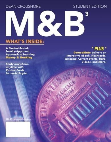 M&B3 (with CourseMate, 1 term (6 months): Croushore, Dean