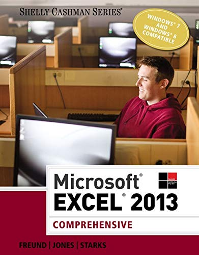 9781285168432: Microsoft Excel 2013: Comprehensive (Shelly Cashman Series)