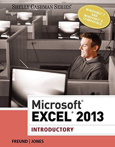 9781285168562: Microsoft Excel 2013: Introductory (Shelly Cashman Series)