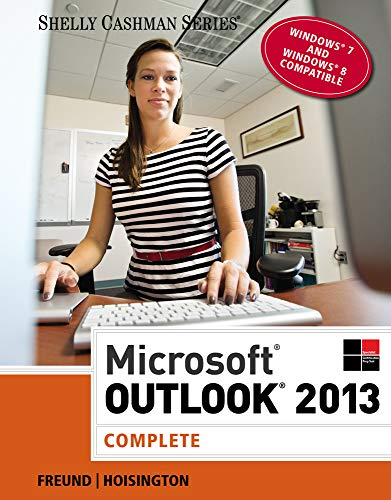 9781285168876: Microsoft Outlook 2013: Complete (Shelly Cashman Series)