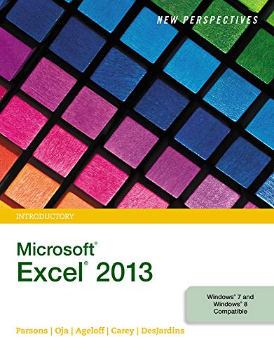 9781285169361: New Perspectives on Microsoft Excel 2013, Introductory - Standalone book