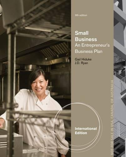 9781285170022: Small Business: An Entrepreneur's Business Plan