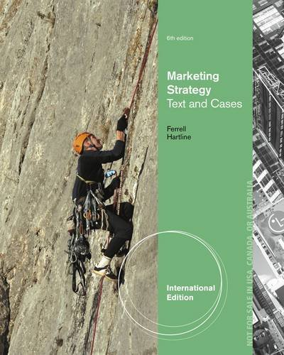 9781285170435: Marketing Strategy, Text and Cases