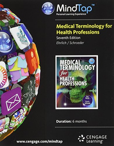 9781285172071: MindTap Medical Terminology, 2 terms (12 months) Printed Access Card for Ehrlich/Schroeder's Medical Terminology for Health Professions with Studyware CD-ROM, 7th (MindTap Course List)