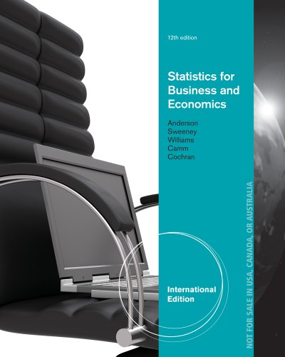 9781285172309: Statistics for Business and Economics