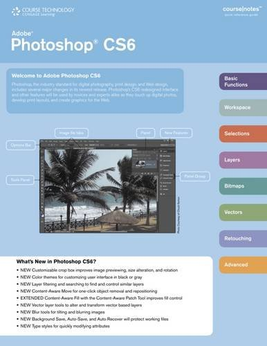 9781285172354: Adobe Photoshop CS6 CourseNotes (Coursenotes Quick Reference Guide)