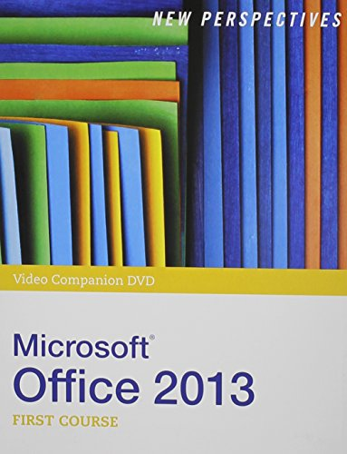 9781285173672: Video Companion for Shaffer/Carey/Parsons/Oja/Finnegan's New Perspectives on Microsoft Office 2013, First Course