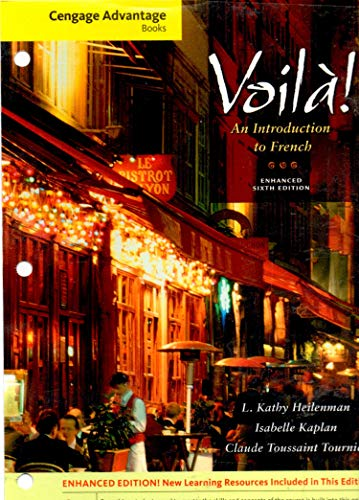 9781285175409: Voila: An Introduction To French (Enhanced 6th edition)