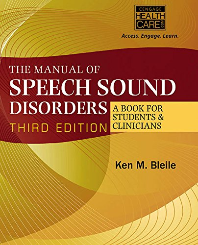 9781285175508: The Manual of Speech Sound Disorders (Book Only)