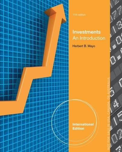 9781285175676: Investments: An Introduction, International Edition (with Thomson ONE - Business School Edition 6-Month Printed Access Card and Stock-Trak Coupon)