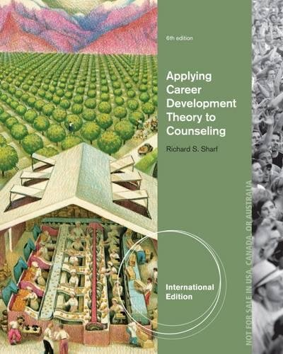 9781285176062: Applying Career Development Theory to Counseling, International Edition