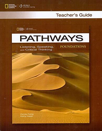 9781285176277: Pathways Foundations Listening Speaking Teachers book