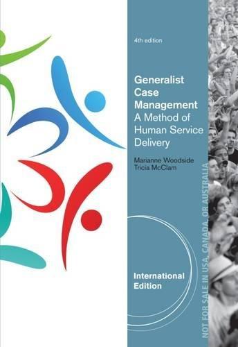 9781285176376: Generalist Case Management, International Edition