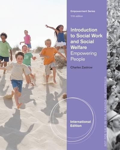 9781285176406: Introduction to Social Work and Social Welfare: Empowering People, International Edition