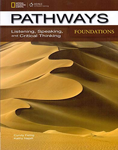 9781285177489: Pathways Foundations: Listening, Speaking, and Critical Thinking