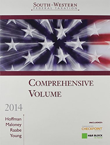 9781285178509: South-Western Federal Taxation, 2014: Comprehensive Volume