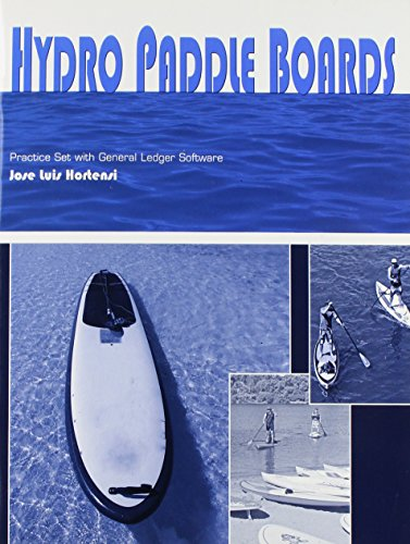 9781285178776: Hydro Paddle Boards Practice Set with Gl Software