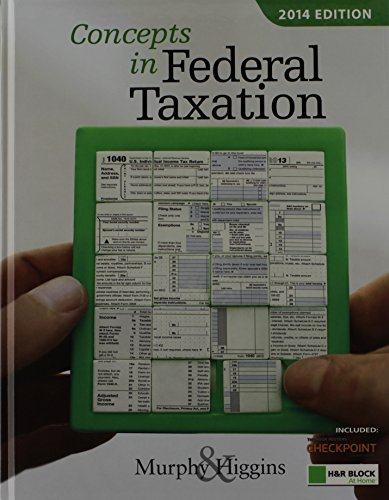 9781285180502: Concepts in Federal Taxation 2014