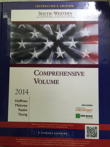 9781285180885: South-western Federal Taxation - Comprehensive Volume