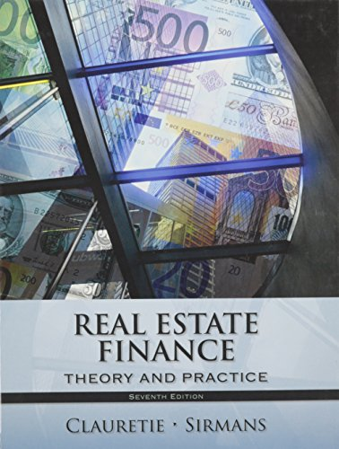 9781285181370: Title: REAL ESTATE FINANCE
